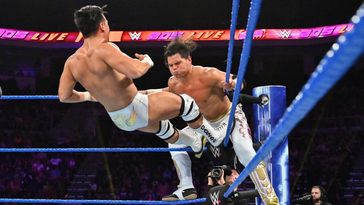 Resultados WWE 205 LIVE (20 de agosto 2019) | ¡Ángel Garza debuta! 6