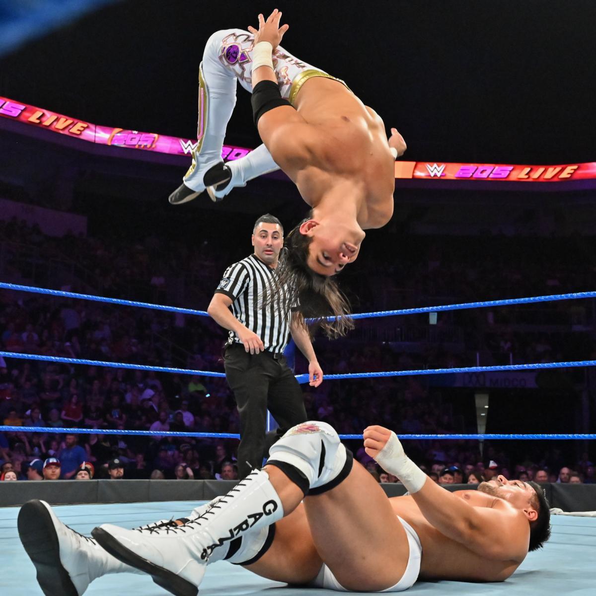 Resultados WWE 205 LIVE (20 de agosto 2019) | ¡Ángel Garza debuta! 7
