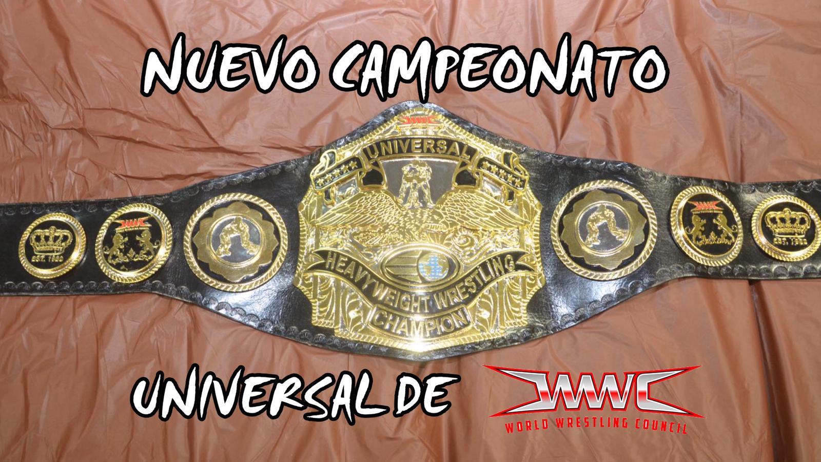 Video del nuevo Campeonato Universal de WWC 1