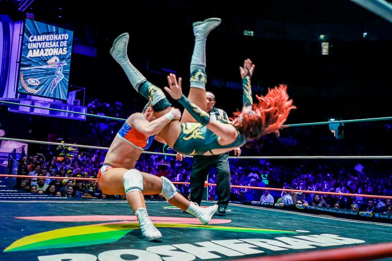 CMLL: Dalys, finalista al Campeonato Universal, Guerrero retiene 3
