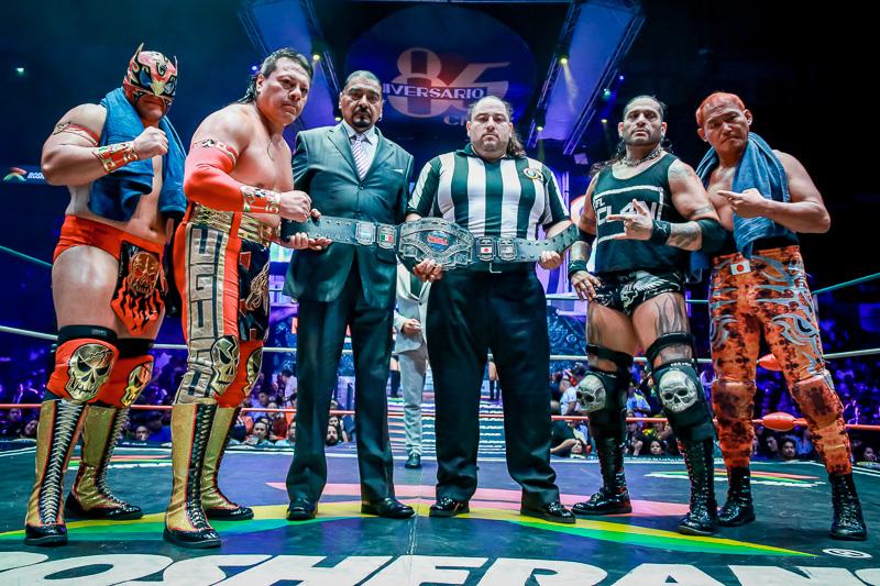 CMLL: Dalys, finalista al Campeonato Universal, Guerrero retiene 6
