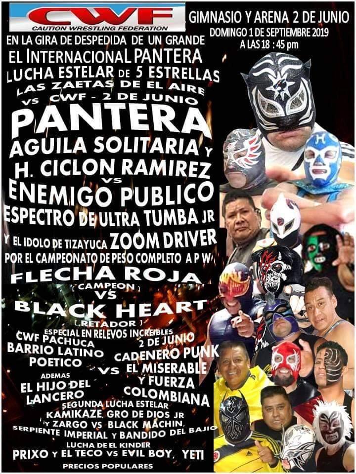 CAMPAL: Actualidades de la lucha libre mexicana | Aniversario deslucido 2