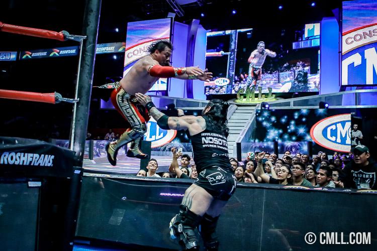 CMLL: Último Guerrero tras Ciber; Chamuel reta a Micromán 26