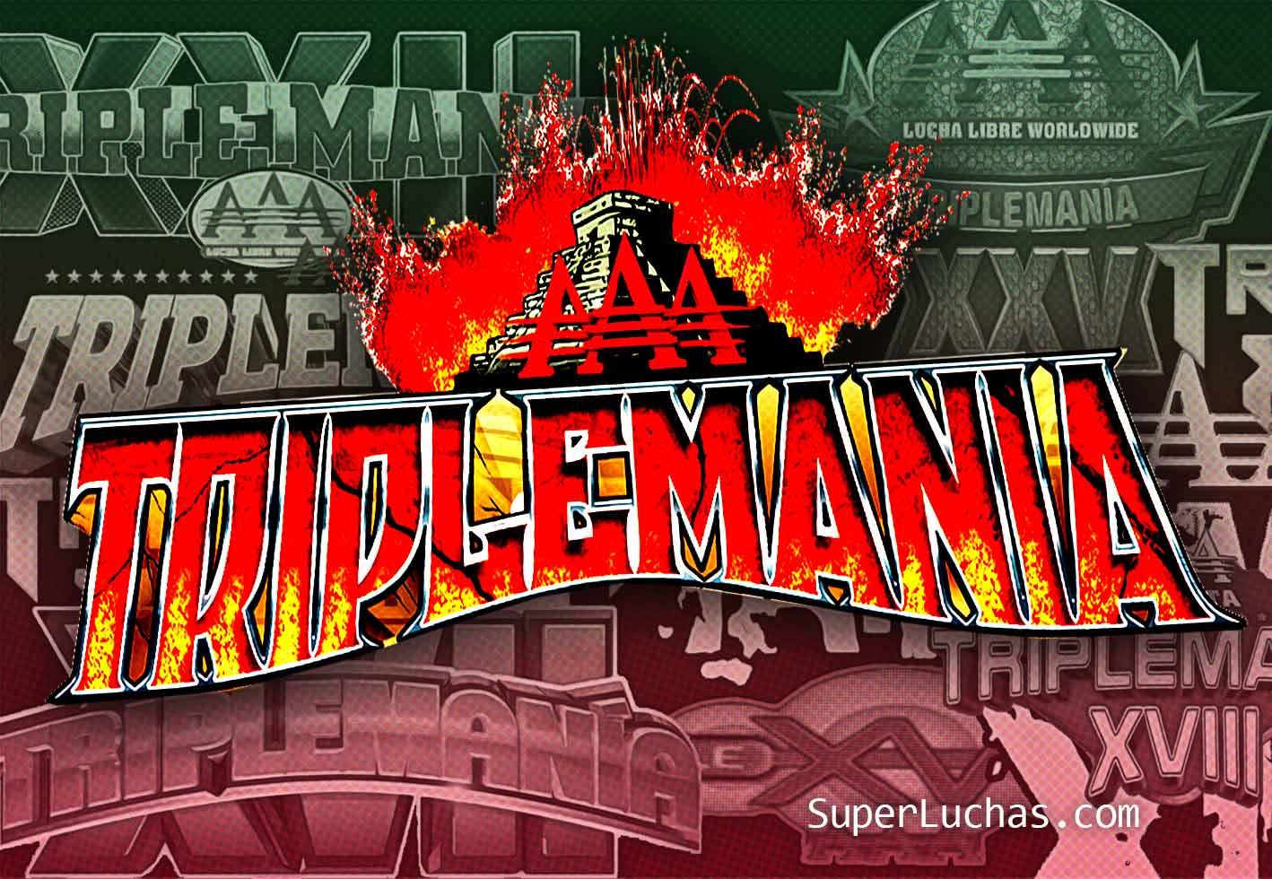 AAA Triplemania logo