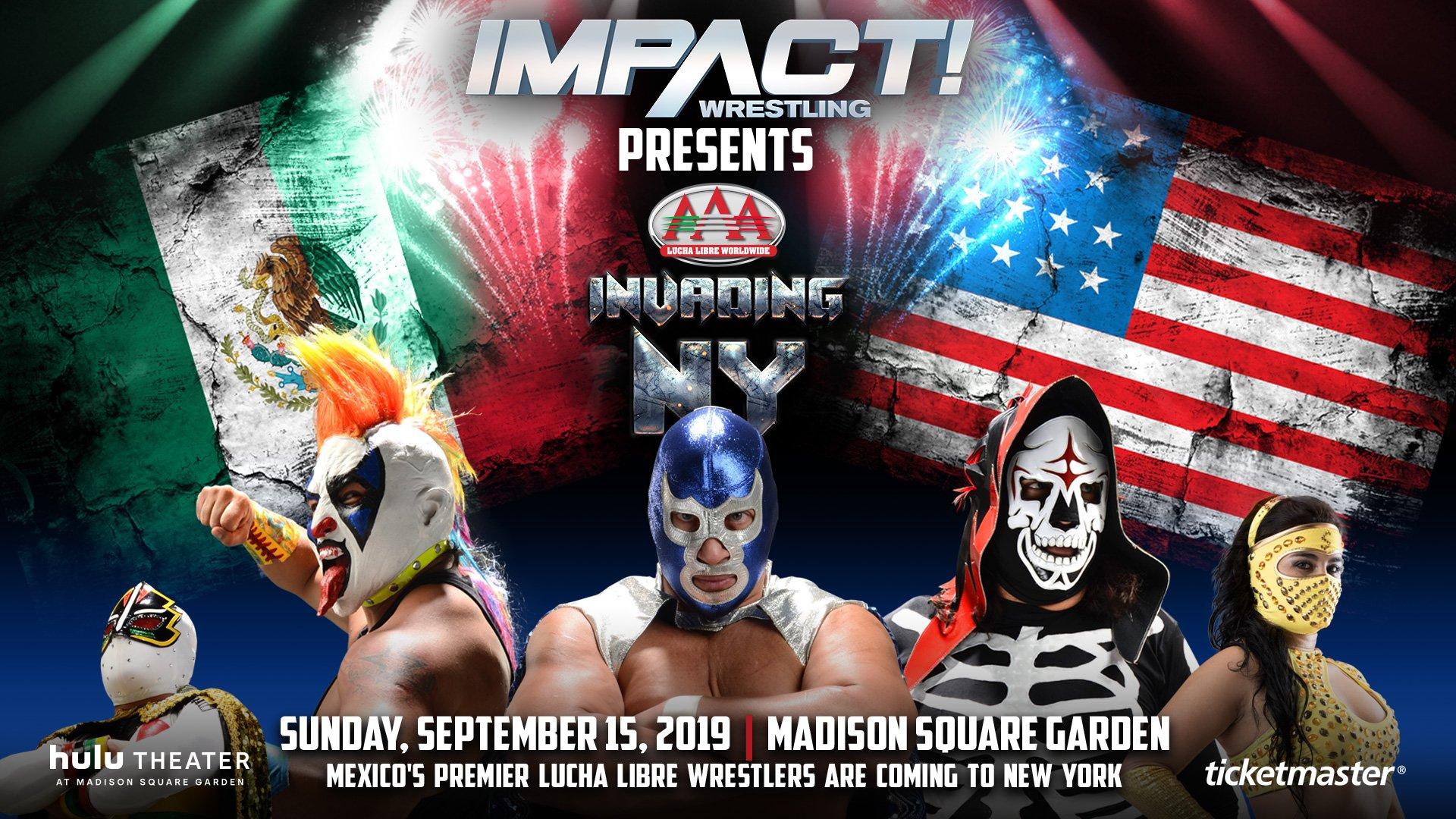 """AAA: Impact! Wrestling asegura su presencia en """"Invading NY"""" como productora 4"""