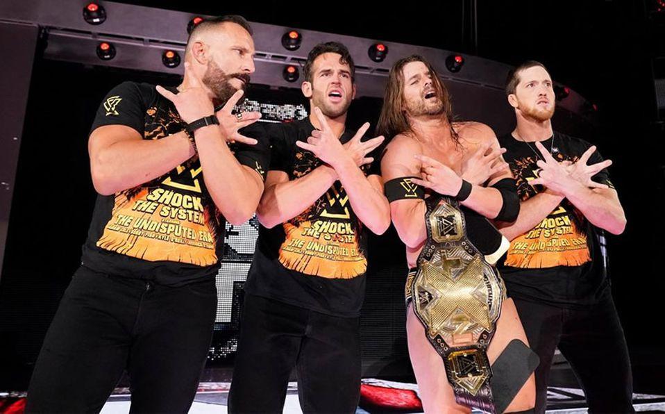 The Undispited Era luego de la victoria de Adam Cole sobre Johnny Gargano en NXT Takeover: Toronto.