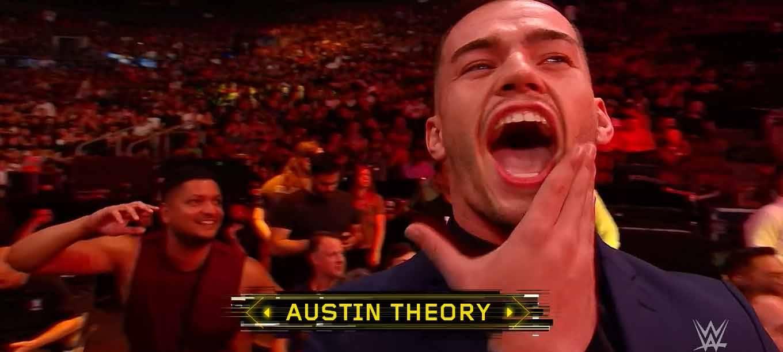 Austin Theory por fin llega a WWE. Apareció en NXT TakeOver Toronto 2019