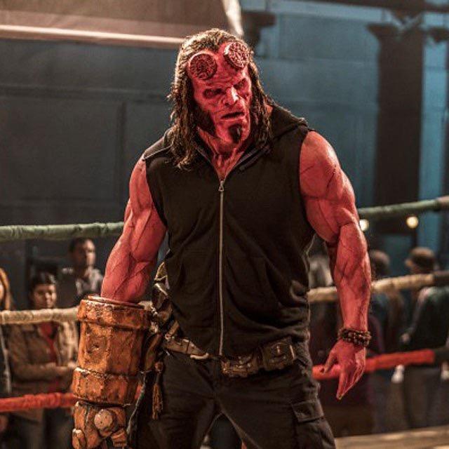 El debut luchístico en Japón de... Hellboy 3