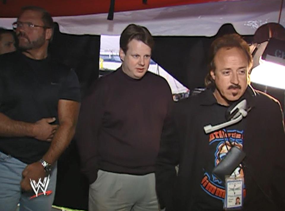 Arn Anderson, Bruce Prichard y Jimmy Hart