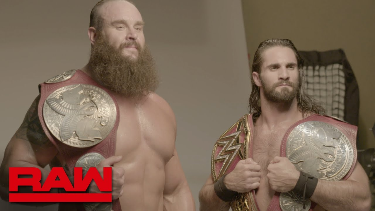 Rollins vs. Strowman vs. Wyatt