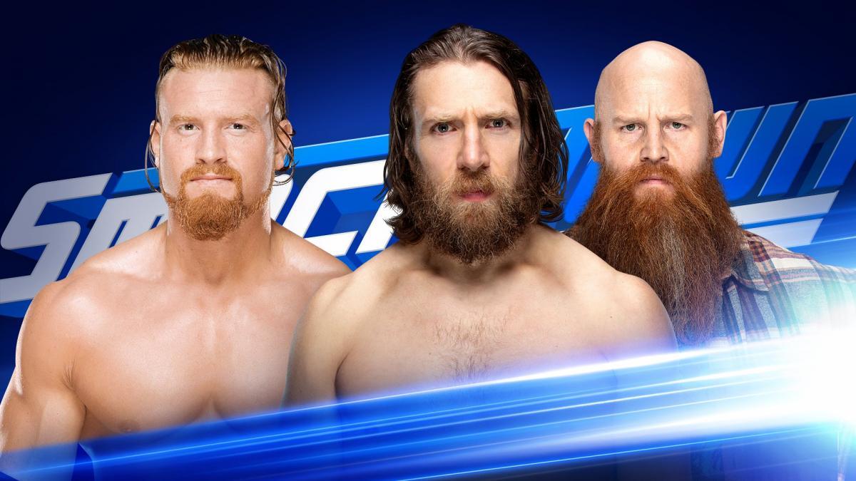 WWE SMACKDOWN LIVE (20 de agosto 2019) | Resultados en vivo | Daniel Bryan vs. Buddy Murphy 17