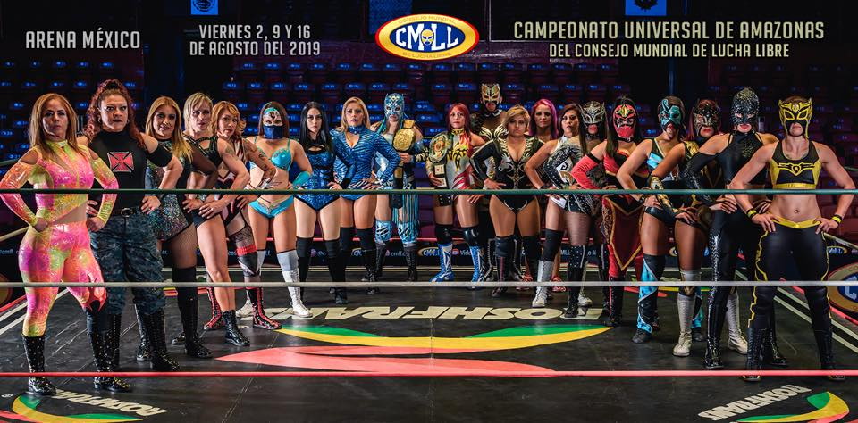 CMLL: Las Amazonas tras el nuevo Campeonato Universal de Amazonas 1