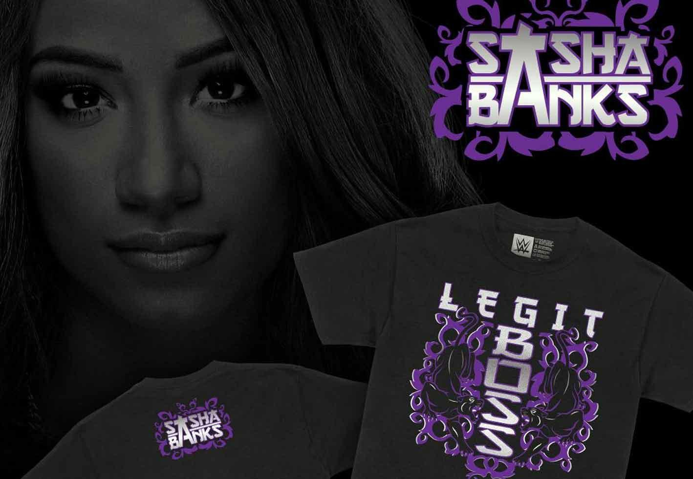 Camiseta de Sasha Banks