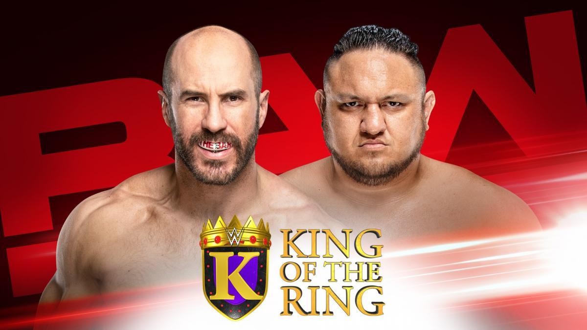 WWE RAW (19 de agosto 2019) | Resultados en vivo | King of the Ring 18