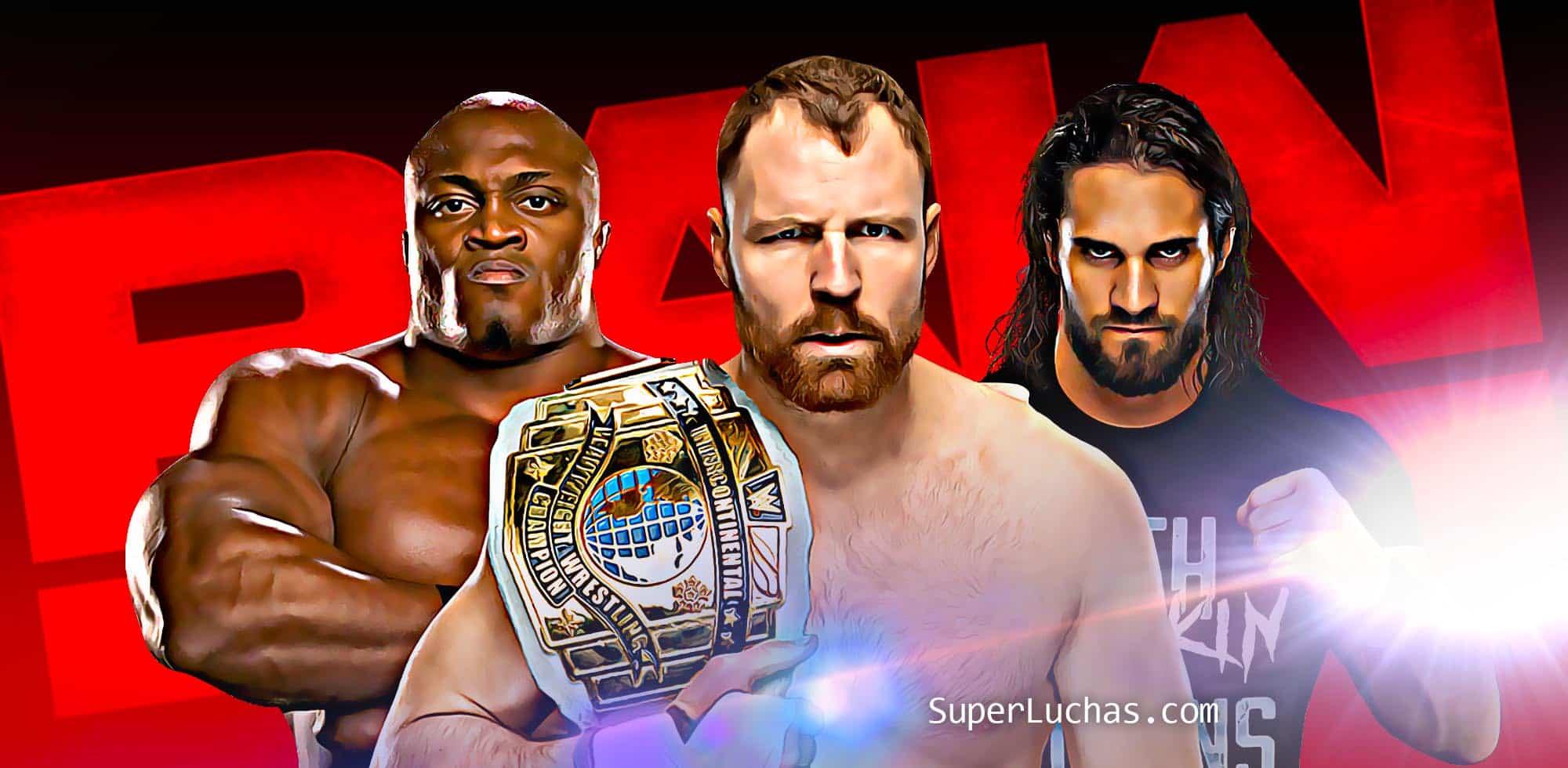 Cobertura Raw 14 01 19