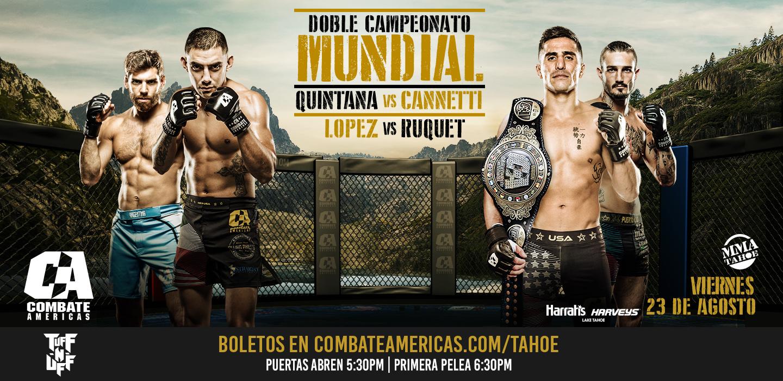 Todo listo para Combate Américas 42 : Andrés Quintana vs. Bruno Cannetti 2 10