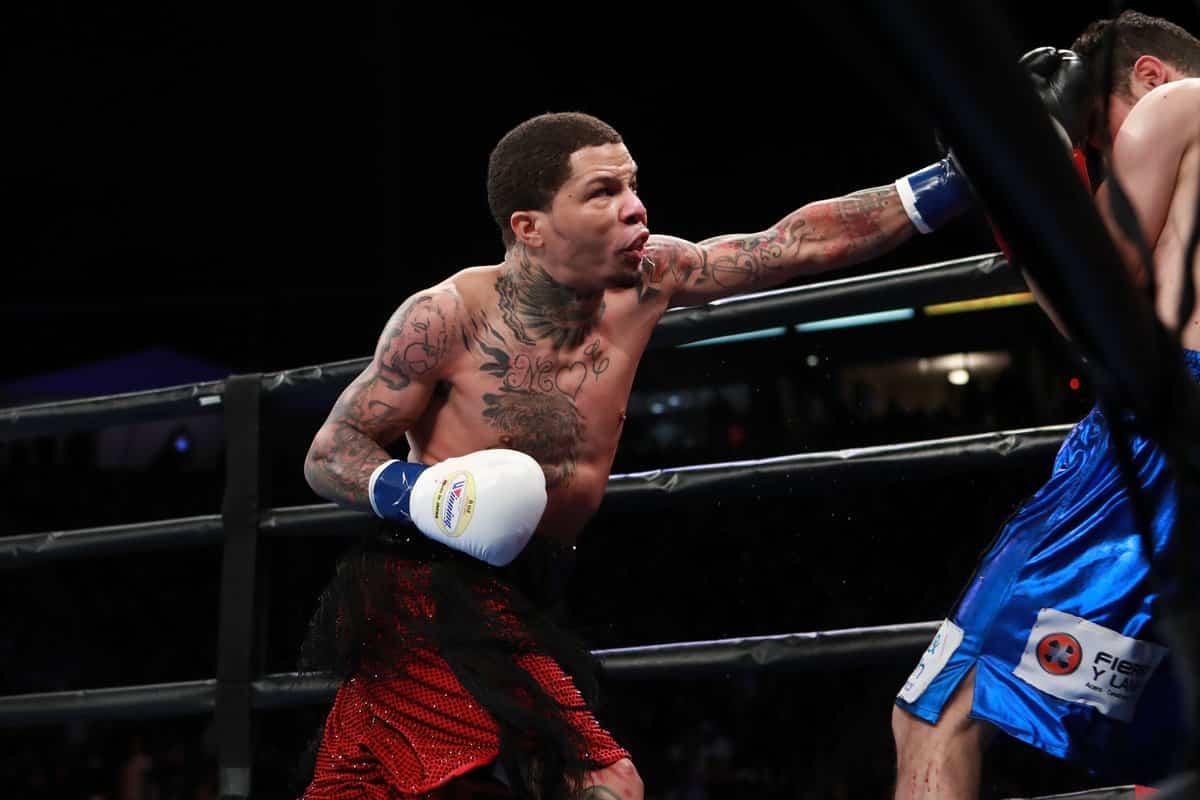 Gervonta Davis noqueó a Ricardo Nuñez en dos rounds 1