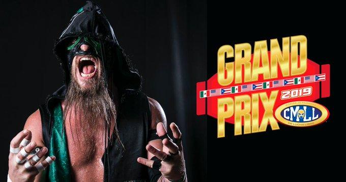 CMLL: Por lesion fuera Mark Briscoe del Grand Prix 2019 24