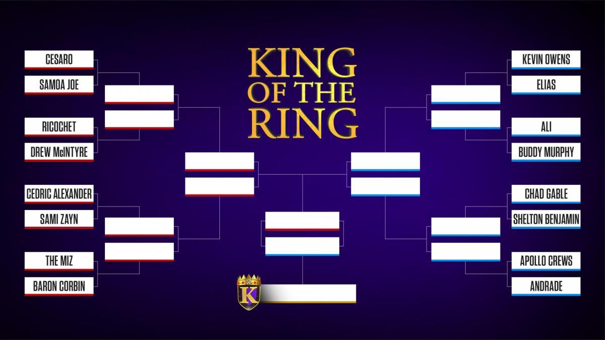 Emparejamientos y cruces del WWE King of the Ring 2019 1