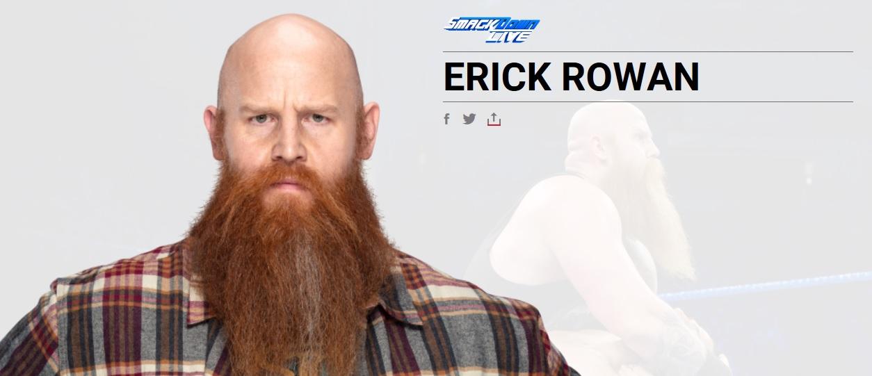 WWE cambia (de nuevo) el alias luchístico de Rowan 1