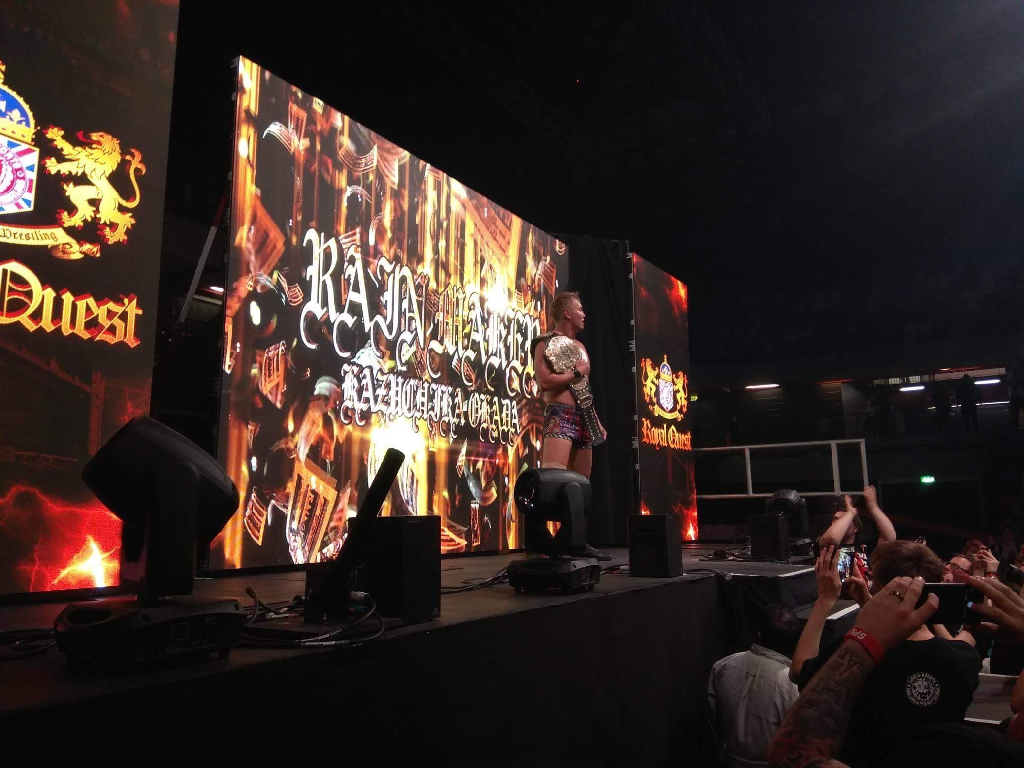 "NJPW: ""Royal Quest 2019"" Okada vs Suzuki - Cobertura 18"