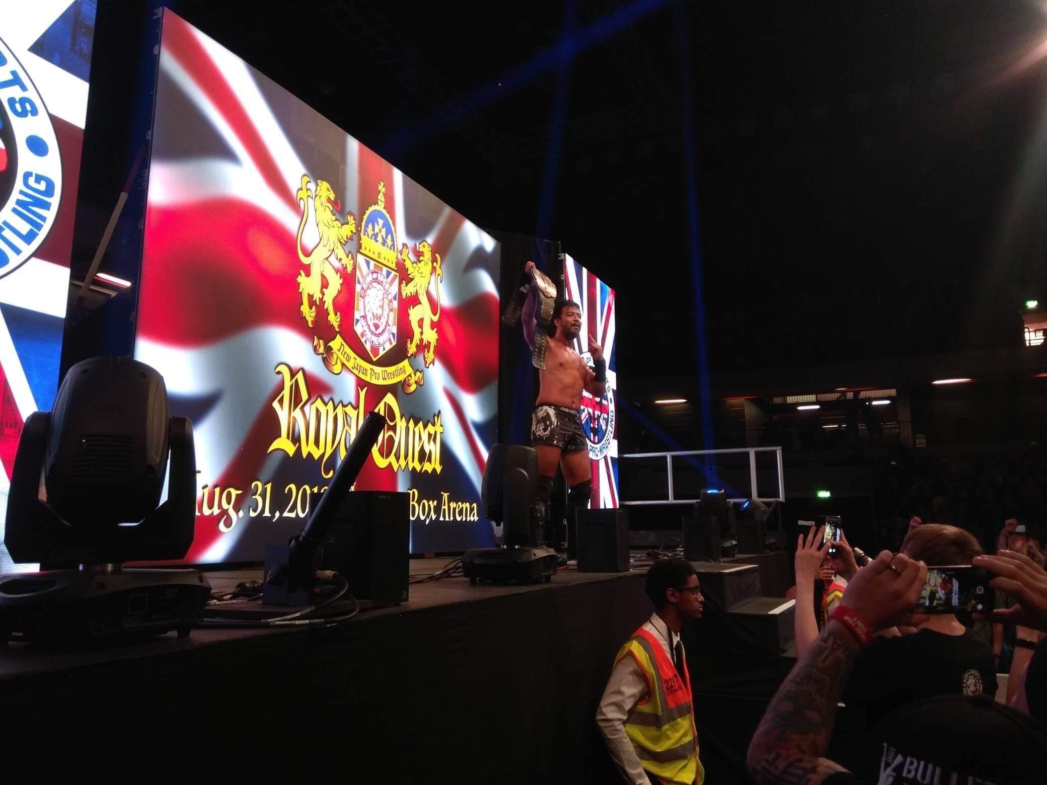 "NJPW: ""Royal Quest 2019"" Okada vs Suzuki - Cobertura 13"