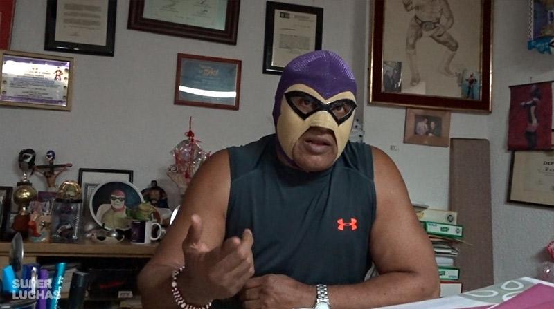 Entrevista con El Fantasma: Triplemanía, su hijo a WWE y más 5