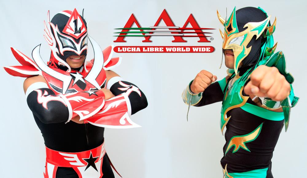 Venum y Ludxor / Lucha Libre AAA