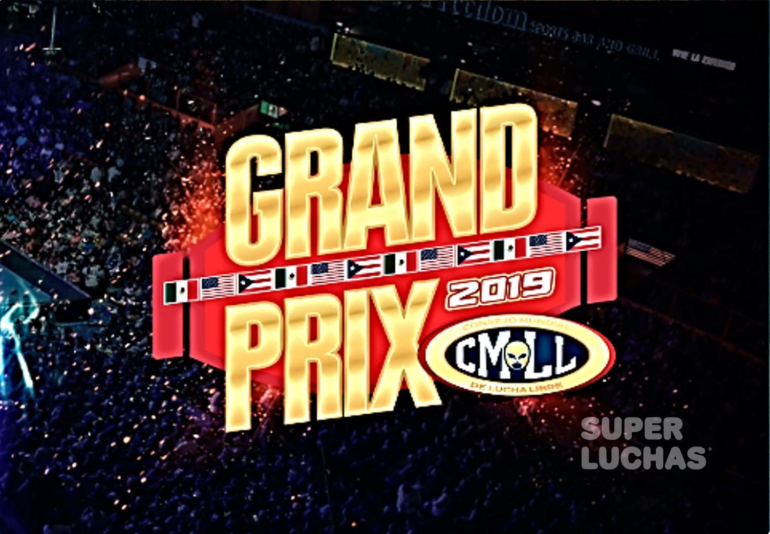 CMLL: Equipo Resto del Mundo para el Grand Prix 2019, faltó NJPW 1
