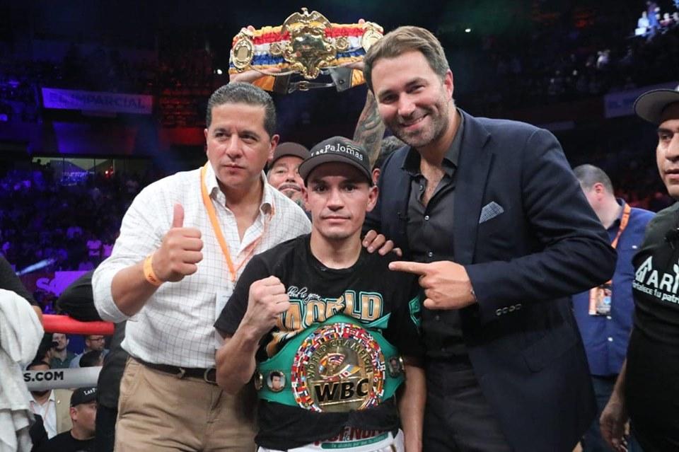 Gallo Estrada ganó por nocaut ante Beamon 5