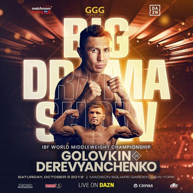 Golovkin contra Derevyanchenko ya es oficial, será en Nueva York 6