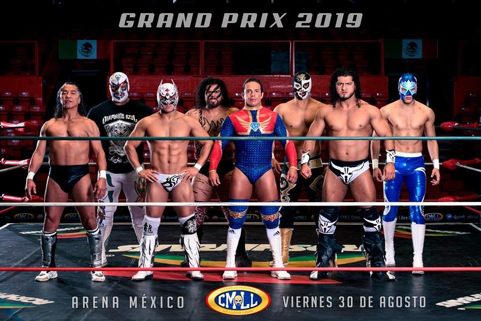 CMLL: Se confirma la edición 2019 del Grand Prix 10