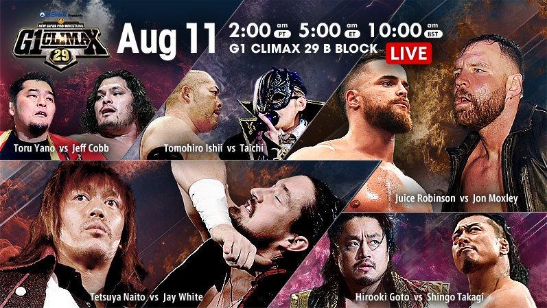 """NJPW: """"G1 Climax 29"""" Día 18 Jay White, segundo finalista 2"""