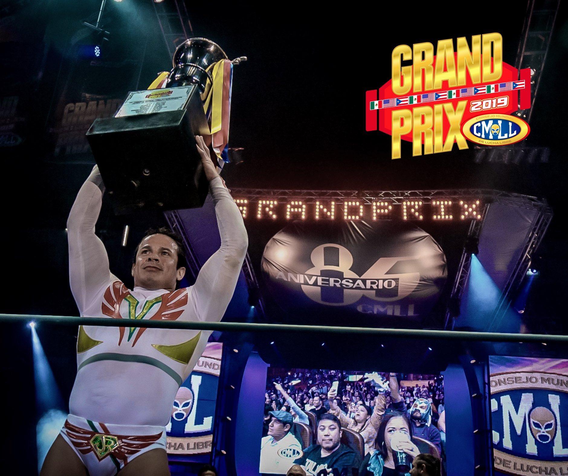 """CMLL: """"Grand Prix 2019"""" En polémico final gana Volador Jr. por México 1"""