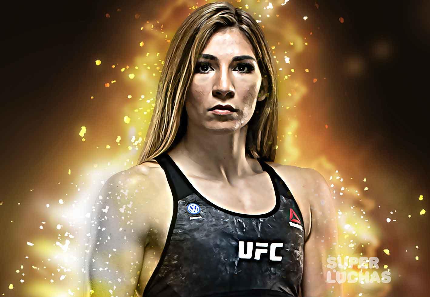 Lista para UFC México: Irene Aldana es un tren que no se detiene 1