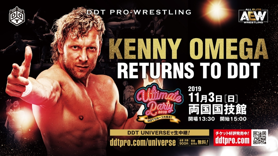 Kenny Omega regresa a DDT para evento especial 3