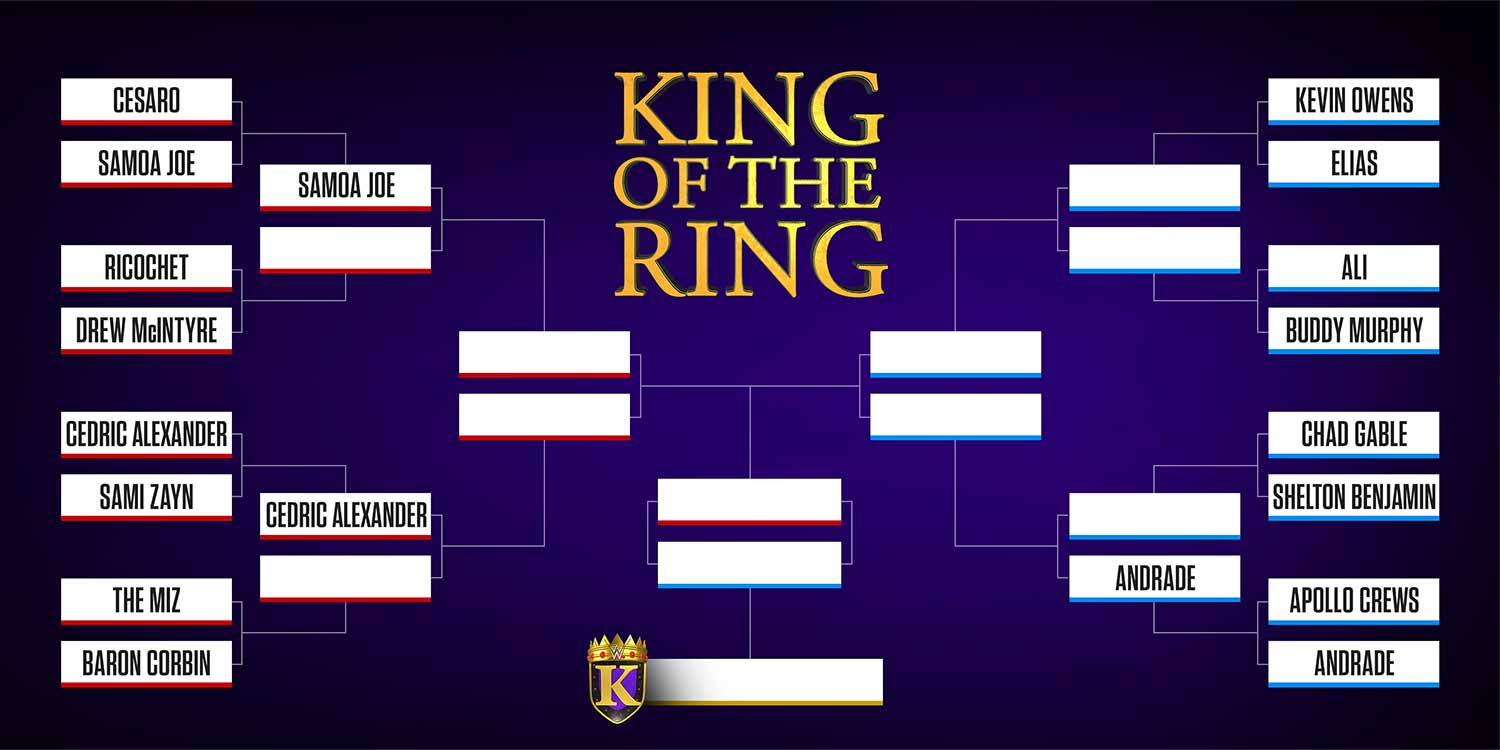 Andrade y Elias avanzan en el torneo King of the Ring 5