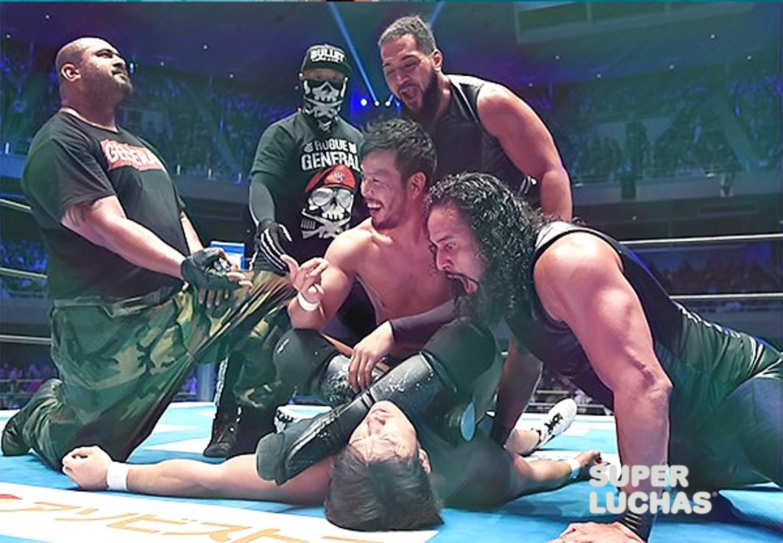 KENTA se une al Bullet Club y traiciona a Katsuyori Shibata 33