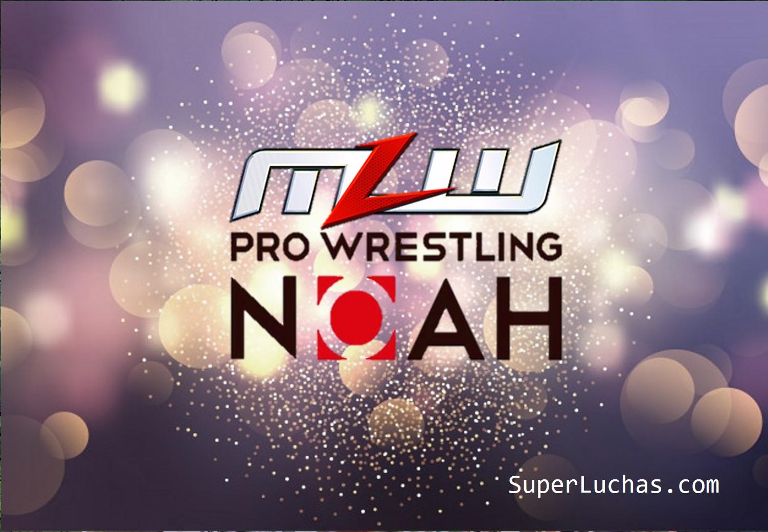 NOAH anuncia alianza con MLW 1