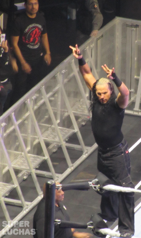 Matt Hardy en el WWE Live! Bogotá, Colombia desde el Movistar Arena (23 de agosto de 2019) / William Beltrán / Superluchas.com / WWE / SÚPER LUCHAS