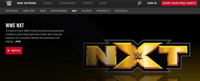 NXT seguirá emitiéndose por WWE Network - ¿Qué supone esto? 1