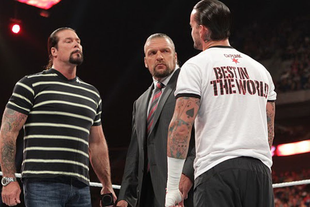 Kevin Nash CM Punk