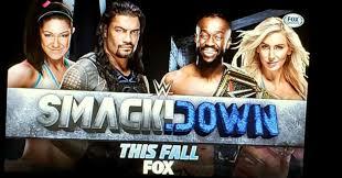 El nuevo logo de WWE SmackDown en FOX (2019).