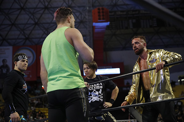 NJPW: El Phantasmo se disculpó por insulto público a Will Ospreay 2