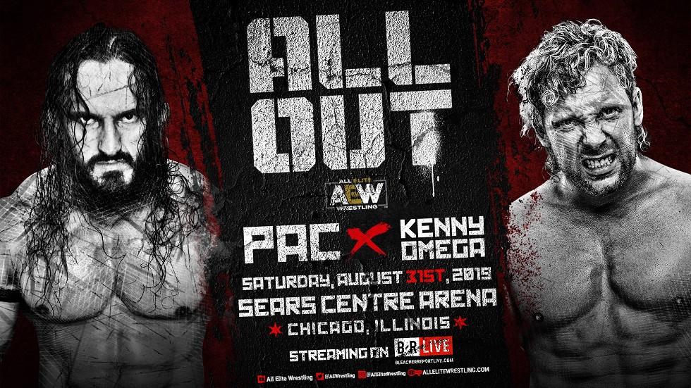Kenny Omega y PAC, descontentos con su lucha en All Out 1