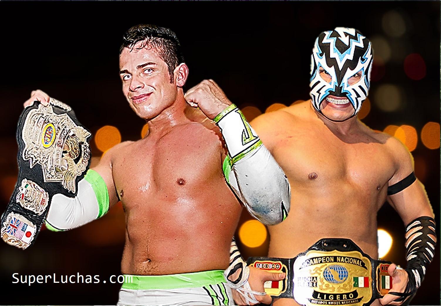 CMLL: En Arena Puebla, Volador Jr. y Eléctrico defienden sus cinturones 30