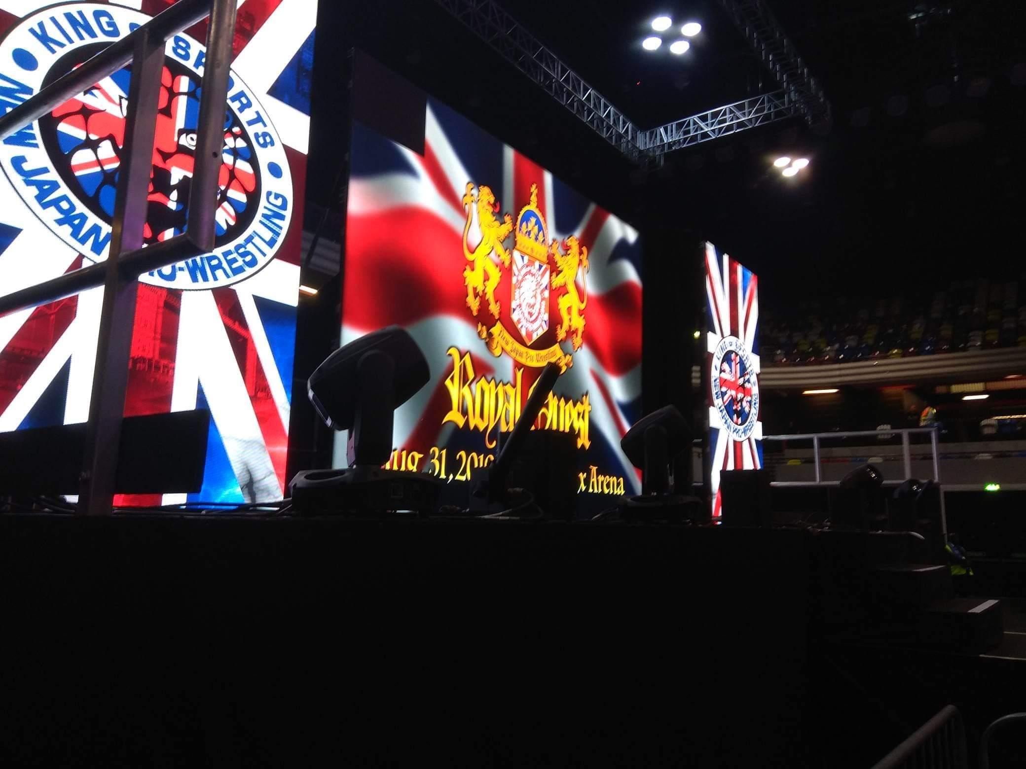 "NJPW: ""Royal Quest 2019"" Okada vs Suzuki - Cobertura 1"