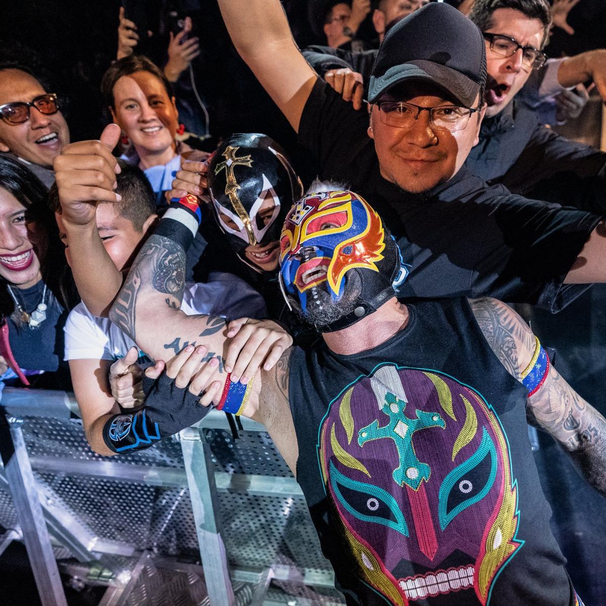 Rey Mysterio vs. Randy Orton Bogota House Show de WWE