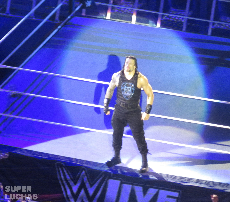 Roman Reigns en el WWE Live! Bogotá, Colombia desde el Movistar Arena (23 de agosto de 2019) / William Beltrán / Superluchas.com / WWE / SÚPER LUCHAS