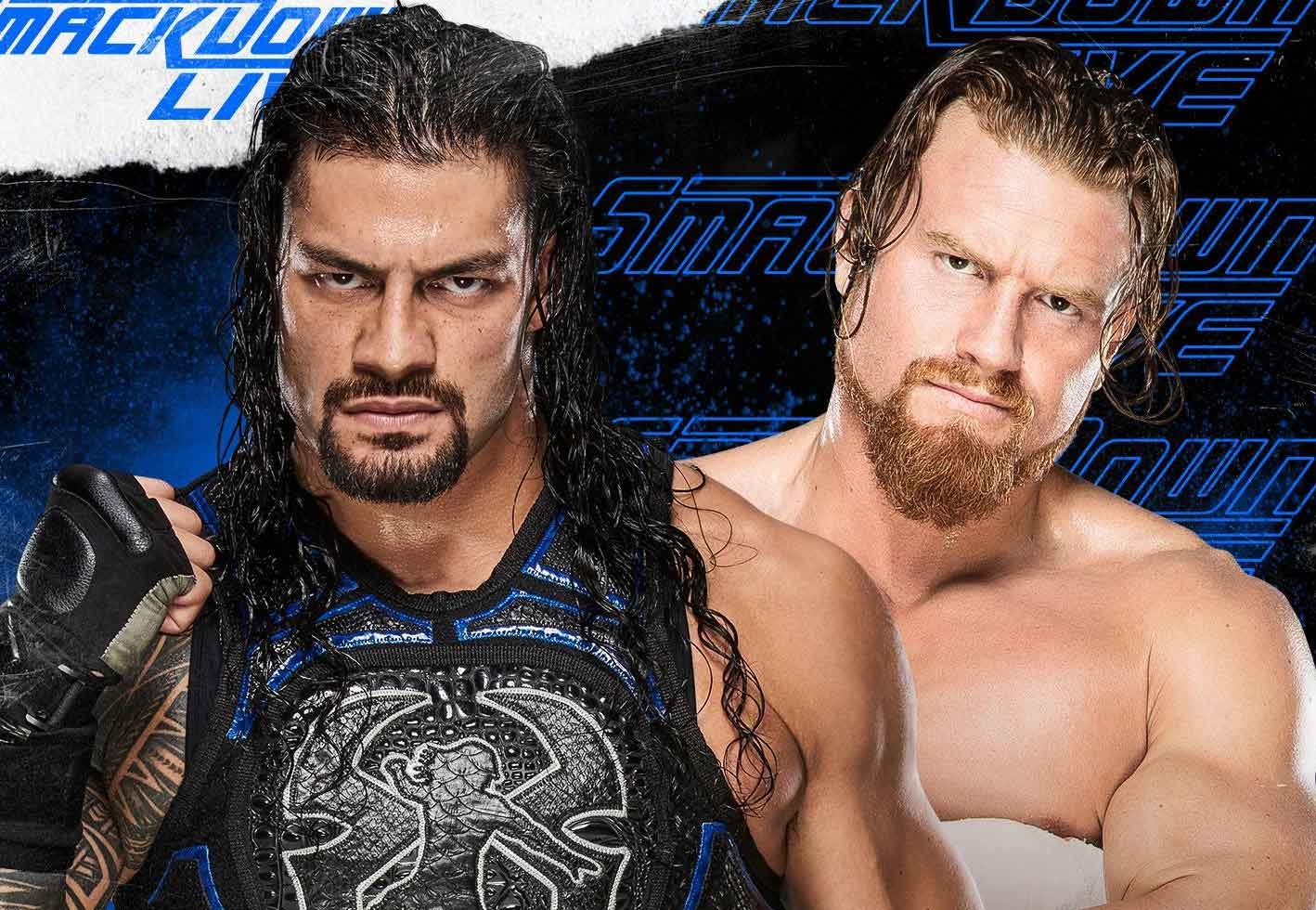 Roman Reigns vs Buddy Murphy